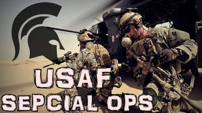 """USAF Special Ops – 'First There"""" 
