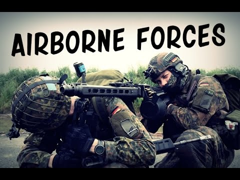 Paratroopers – Airborne Forces (USA, UK, Germany) | Military Tribute 2016 HD