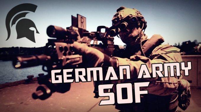 "German Army Special Forces – ""Born Ready"" 