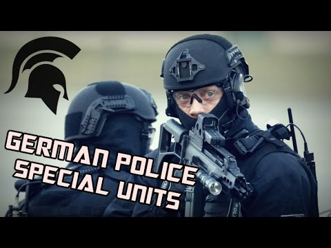 GSG 9, SEK, BFE+ | German Police Special Units | Tribute 2016 HD